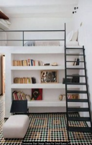 Innovative Stair Design Ideas For Small Space 14
