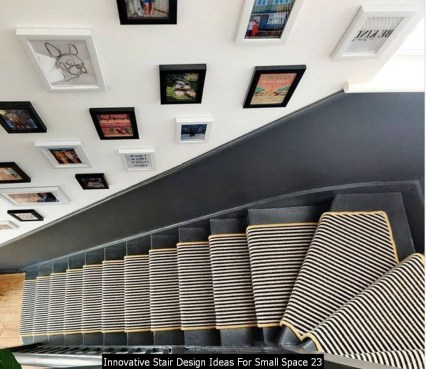 Innovative Stair Design Ideas For Small Space 23