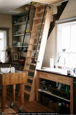 Innovative Stair Design Ideas For Small Space 24