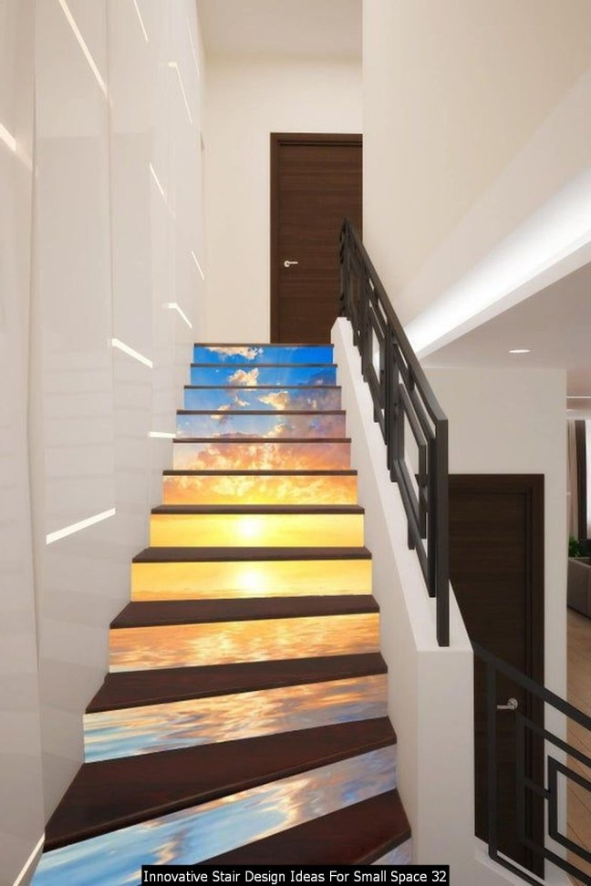 Innovative Stair Design Ideas For Small Space 32