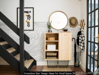 Innovative Stair Design Ideas For Small Space 39