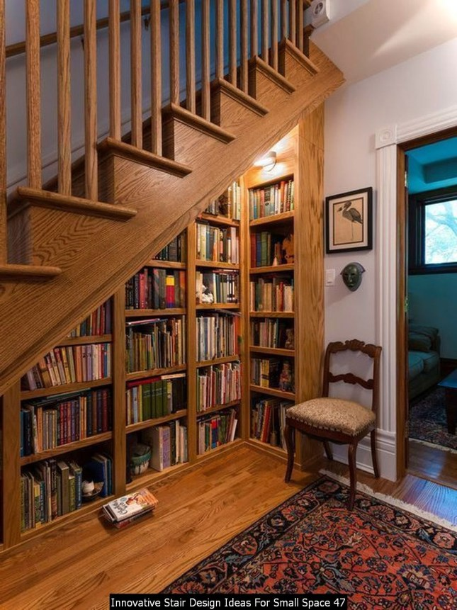 Innovative Stair Design Ideas For Small Space 47