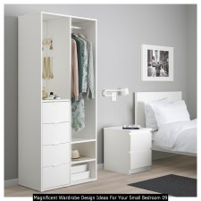 Magnificent Wardrobe Design Ideas For Your Small Bedroom 09