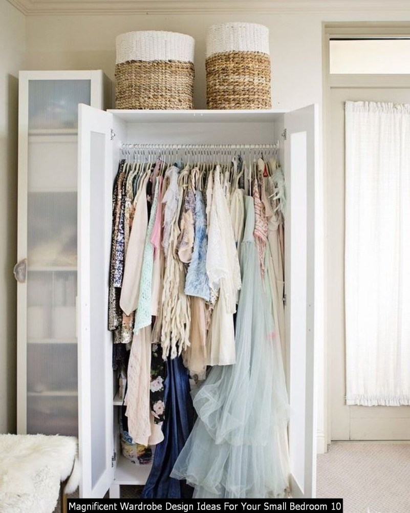 Magnificent Wardrobe Design Ideas For Your Small Bedroom 10