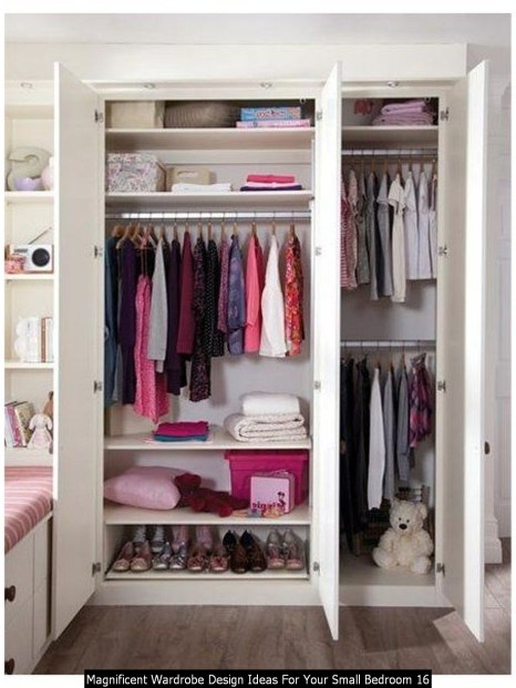 Magnificent Wardrobe Design Ideas For Your Small Bedroom 16