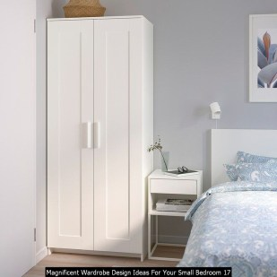 Magnificent Wardrobe Design Ideas For Your Small Bedroom 17
