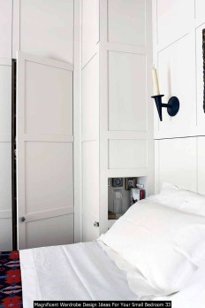 Magnificent Wardrobe Design Ideas For Your Small Bedroom 33