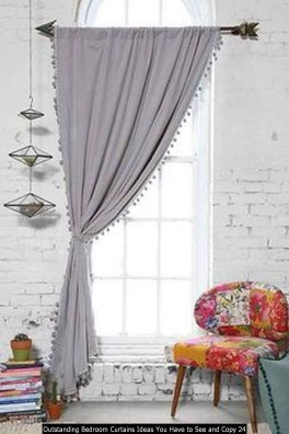 Outstanding Bedroom Curtains Ideas You Have To See And Copy 24