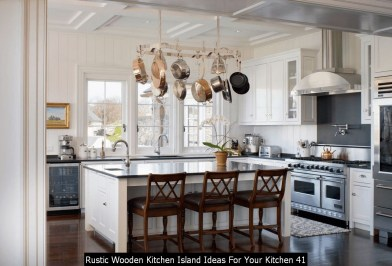 Rustic Wooden Kitchen Island Ideas For Your Kitchen 41