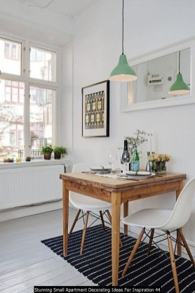 Stunning Small Apartment Decorating Ideas For Inspiration 44