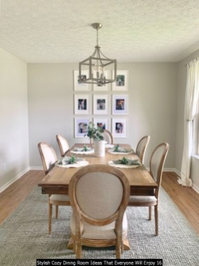 Stylish Cozy Dining Room Ideas That Everyone Will Enjoy 16
