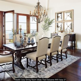 Stylish Cozy Dining Room Ideas That Everyone Will Enjoy 27