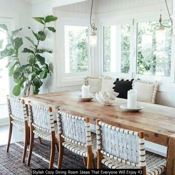Stylish Cozy Dining Room Ideas That Everyone Will Enjoy 43