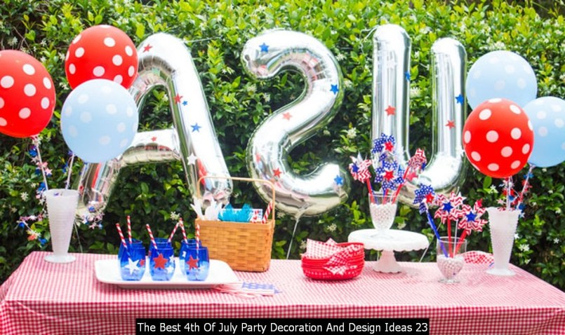 The Best 4th Of July Party Decoration And Design Ideas 23