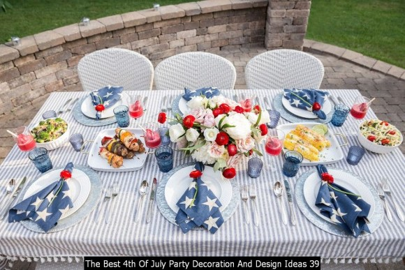 The Best 4th Of July Party Decoration And Design Ideas 39