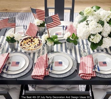 The Best 4th Of July Party Decoration And Design Ideas 50