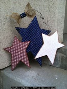 Unique Wood Crafts Ideas For 4th Of July Independence Day 21
