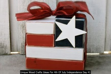 Unique Wood Crafts Ideas For 4th Of July Independence Day 41