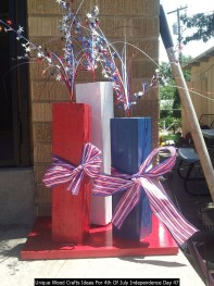 Unique Wood Crafts Ideas For 4th Of July Independence Day 47