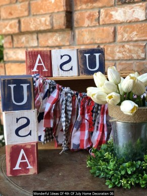Wonderful Ideas Of 4th Of July Home Decoration 06