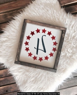 Wonderful Ideas Of 4th Of July Home Decoration 09