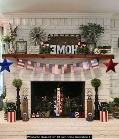 Wonderful Ideas Of 4th Of July Home Decoration 11