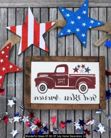 Wonderful Ideas Of 4th Of July Home Decoration 14