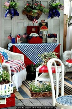 Wonderful Ideas Of 4th Of July Home Decoration 17