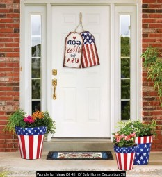 Wonderful Ideas Of 4th Of July Home Decoration 20