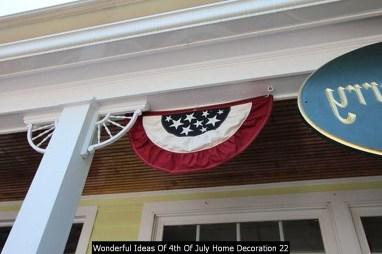 Wonderful Ideas Of 4th Of July Home Decoration 22