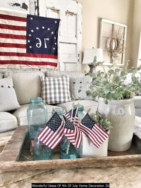 Wonderful Ideas Of 4th Of July Home Decoration 26