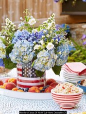 Wonderful Ideas Of 4th Of July Home Decoration 31