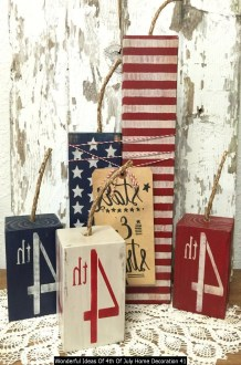 Wonderful Ideas Of 4th Of July Home Decoration 41