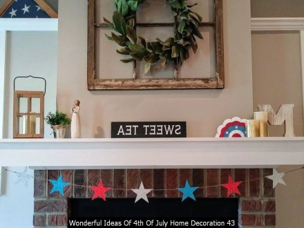 Wonderful Ideas Of 4th Of July Home Decoration 43