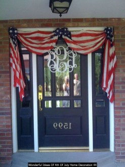 Wonderful Ideas Of 4th Of July Home Decoration 44
