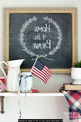 Wonderful Ideas Of 4th Of July Home Decoration 45