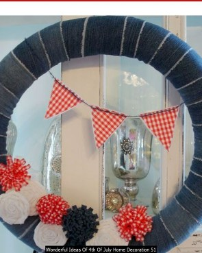 Wonderful Ideas Of 4th Of July Home Decoration 51
