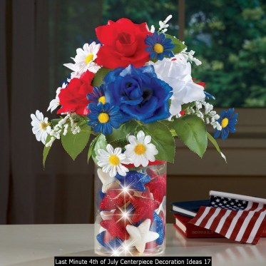 Last Minute 4th Of July Centerpiece Decoration Ideas 17