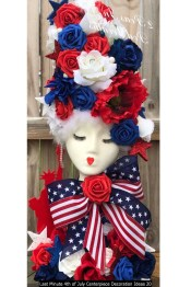 Last Minute 4th Of July Centerpiece Decoration Ideas 20