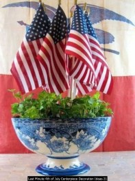 Last Minute 4th Of July Centerpiece Decoration Ideas 21
