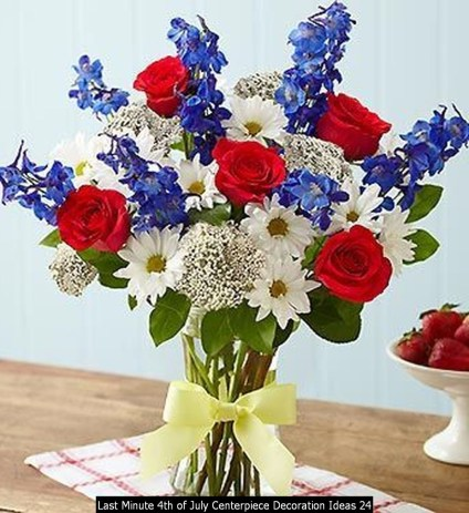 Last Minute 4th Of July Centerpiece Decoration Ideas 24