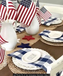 Last Minute 4th Of July Centerpiece Decoration Ideas 30