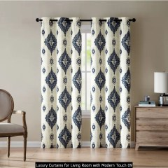 Luxury Curtains For Living Room With Modern Touch 09