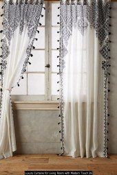 Luxury Curtains For Living Room With Modern Touch 26