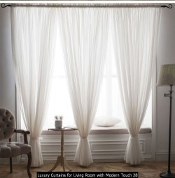 Luxury Curtains For Living Room With Modern Touch 28