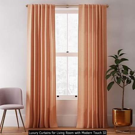 Luxury Curtains For Living Room With Modern Touch 32