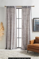 Luxury Curtains For Living Room With Modern Touch 36