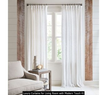 Luxury Curtains For Living Room With Modern Touch 41