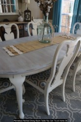 Marvelous Painted Dining Room Table You Can Try At Home 36