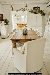 Marvelous Painted Dining Room Table You Can Try At Home 38